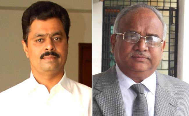 టీడీపీ రాజ్యసభ అభ్యర్ధులు సీఎం రమేష్..రవీంద్రకుమార్