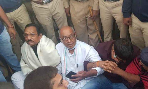 దిగ్విజయ్ సింగ్ అరెస్ట్